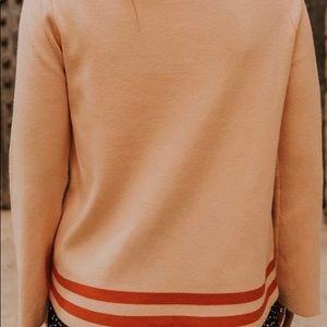 Wide sleeve sweater